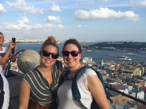 At Galata Tower