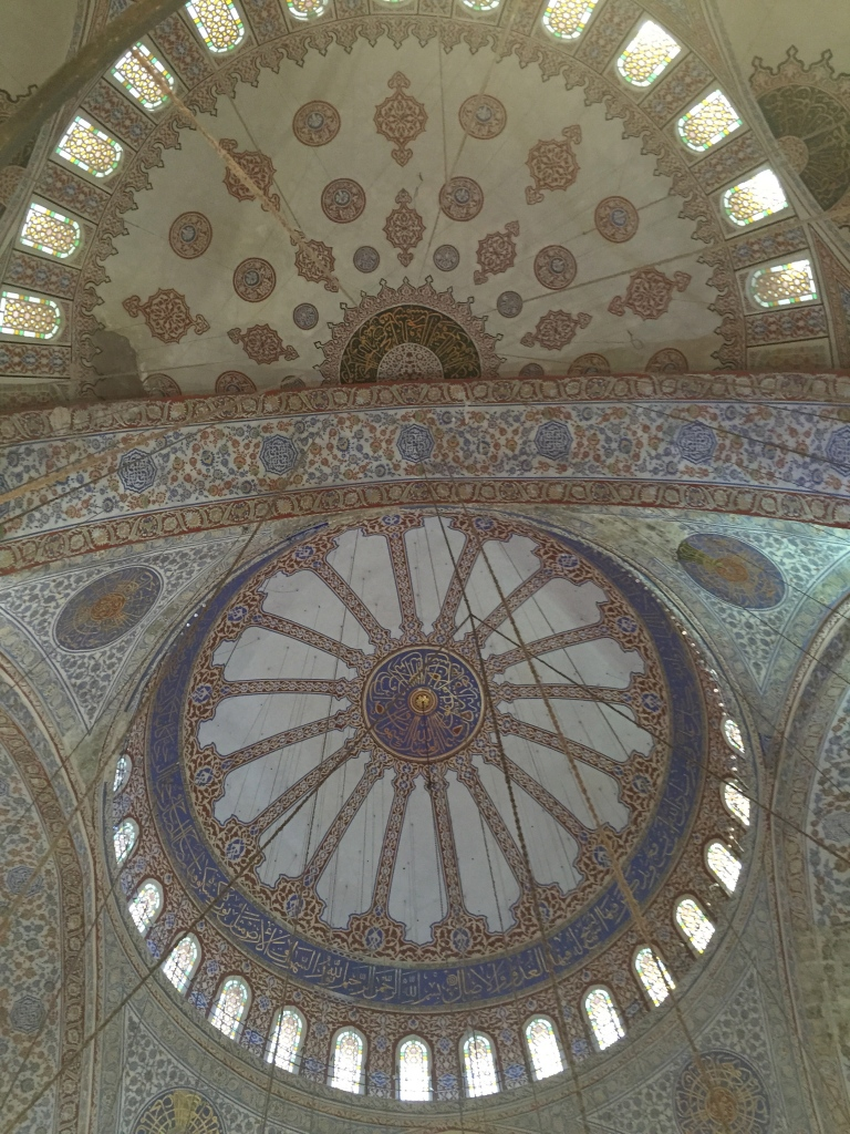 Ceiling of Sultanhamet