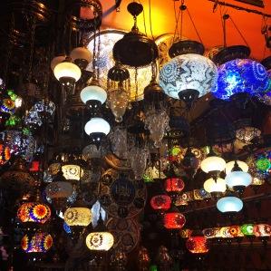 Pretty lanterns.